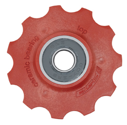 FSA Ceramic Bearing Pulleys Color: Red