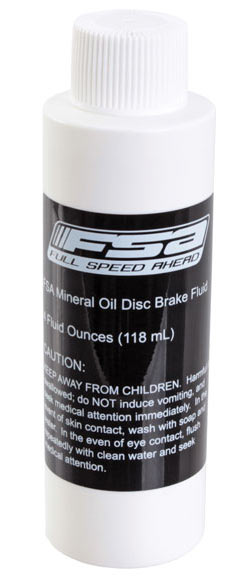 FSA Disc Brake Fluid Size: 4oz bottle