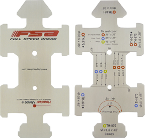 FSA Headset Sizing Gauges Model: 1