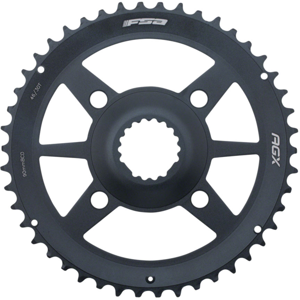 FSA Gossamer AGX Direct Mount Chainring Color: Black