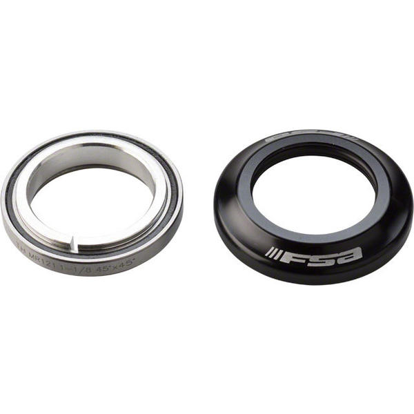 FSA Internal Headset Upper Color: Black/Silver