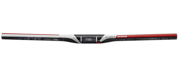 FSA K-Force XC Flat Mountain Bike Handlebar Color: Black/Red