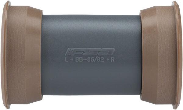 FSA MegaExo Steel Mountain Bottom Bracket for BB89.5 & BB92 Frames for Carbon ARC Cranks, Plastic Cups