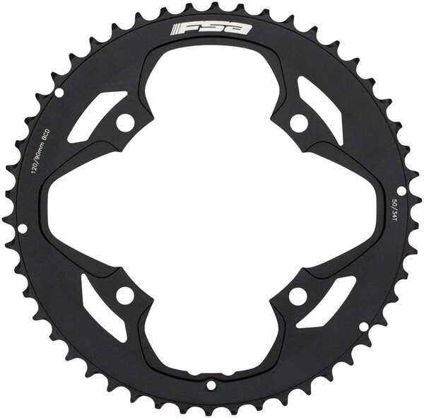 FSA Omega/Vero Pro Road Double Chainring BCD: 120mm