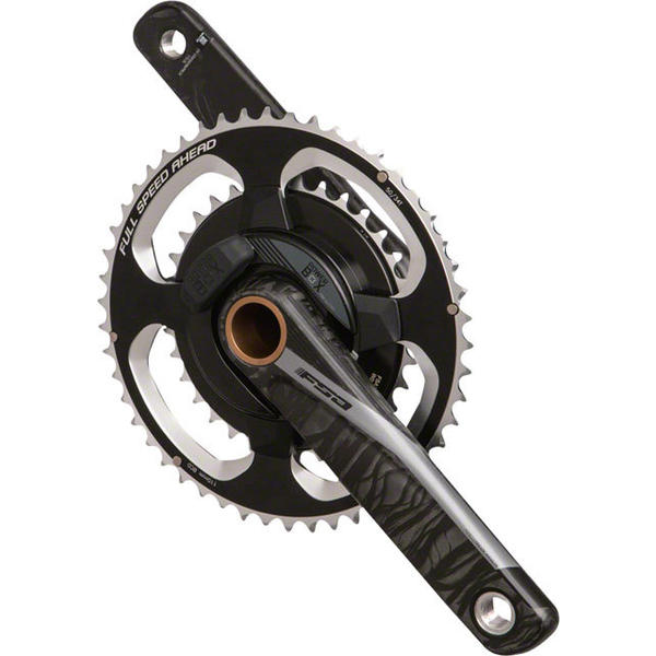 FSA PowerBox Carbon Road Crankset Color: Black