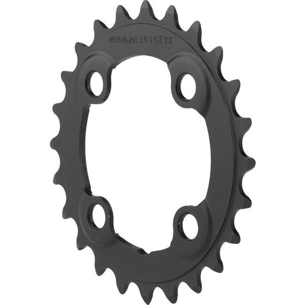 FSA Pro MTB Chainring BCD | Color | Size | Speeds: 104mm | Black | 24T | 10