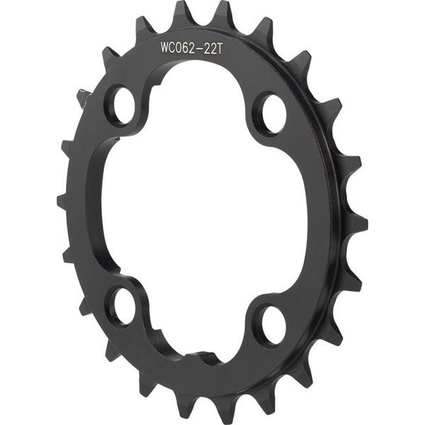 FSA Pro MTB Chainring BCD | Color | Size | Speeds: 104mm | Black | 22T | 10