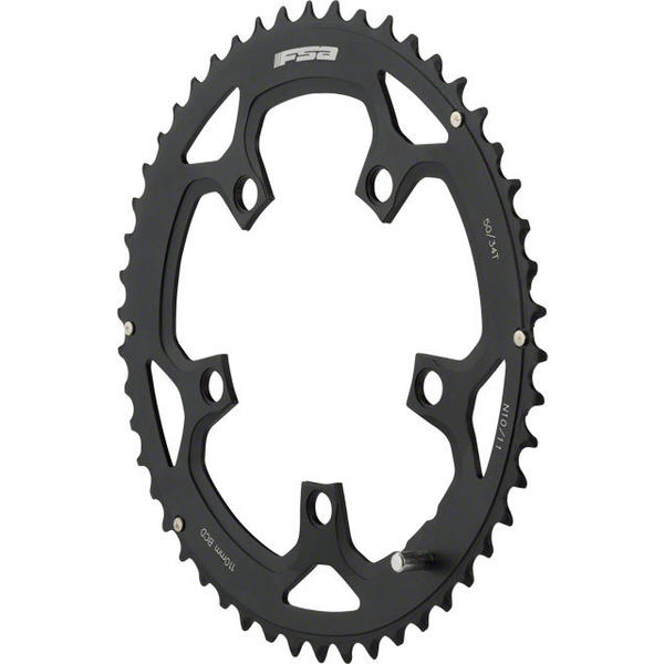 FSA Pro Road Double Chainring BCD | Color | Size | Speeds: 110mm | Black | 50T | 10