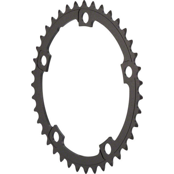 FSA Pro Super Road Chainring BCD | Color | Size: 130mm | Black | 39T