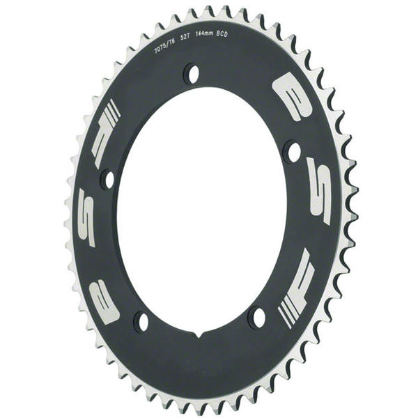 FSA Pro Track Chainring BCD | Color | Size | Speeds: 144mm | Black | 46T | Single