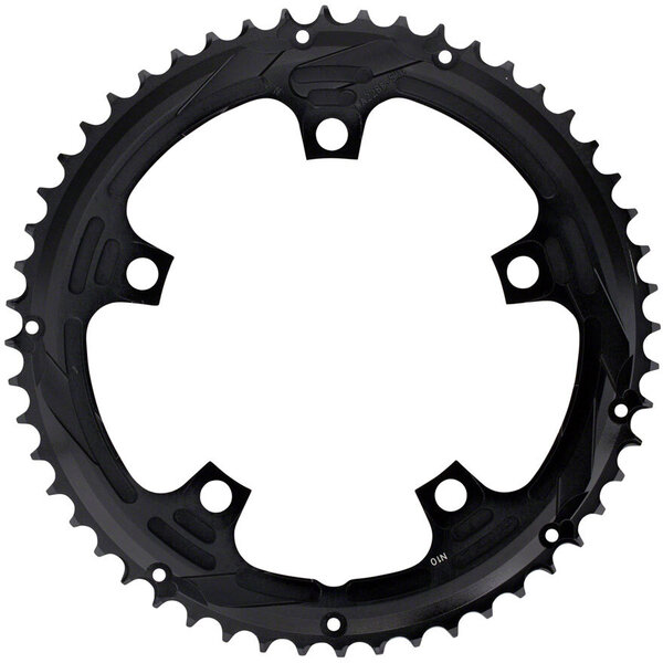 FSA Super Road Chainring BCD | Color | Size: 130mm | Black | 52T