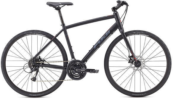 Fuji Absolute 1.9 Disc Color: Satin Black/Red