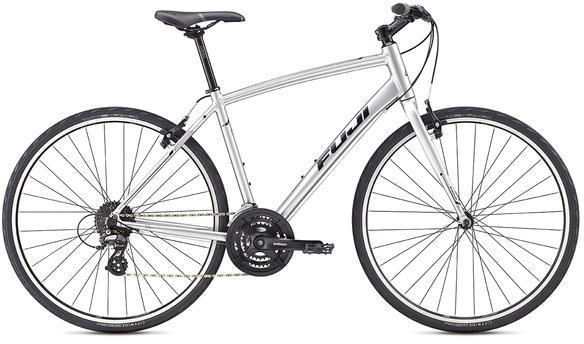 Fuji Absolute 2.1 Color: Silver / Black
