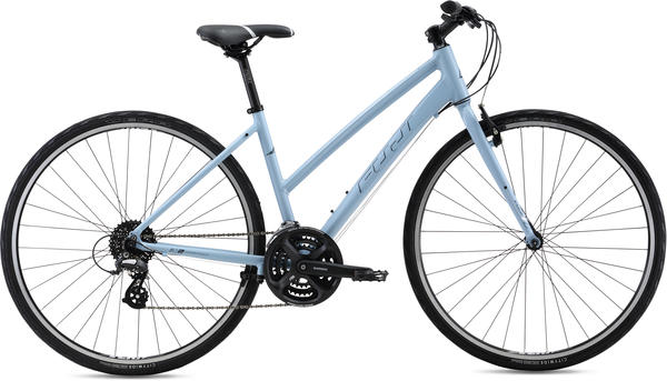 Fuji Absolute 2.1 Step-Through - Women's Color: Gray-Blue w/Silver and Dark Gray