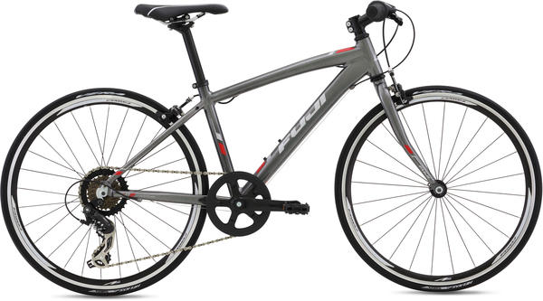 Fuji Absolute 24 (i21) Color: Dark Grey w/ Silver and Red