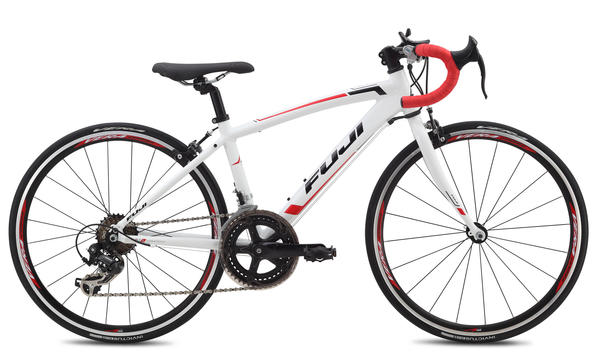 Fuji Ace 24 Color: Gloss White w/Red and Black