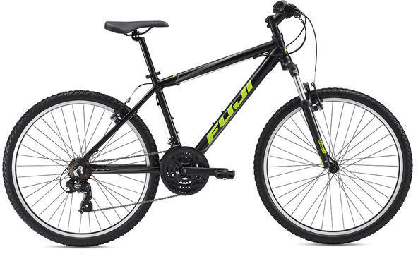Fuji Adventure 27.5 V-Brake Color: Satin Black / Citrus