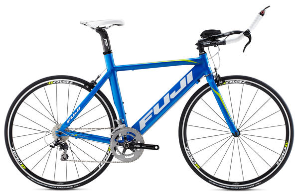 Fuji Aloha 1.1 Color: Gloss Comp Blue w/Citrus and White