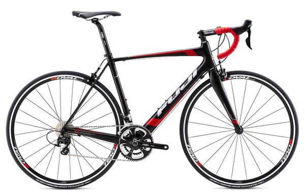 Fuji Altamira 2.7 Color: Gloss Carbon/Red