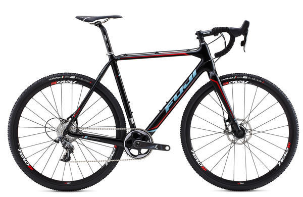 Fuji Altamira CX 1.3 Color: Gloss Carbon w/Sky Blue and Red