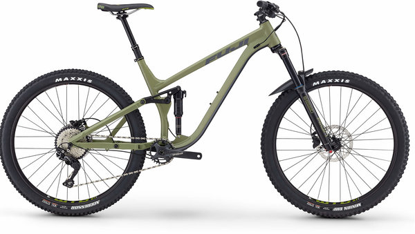 Fuji Auric 27.5 1.5 Color: Satin Army Green