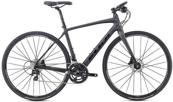Fuji Brevet Forza 1.1 Color: Satin Carbon / Gloss Black