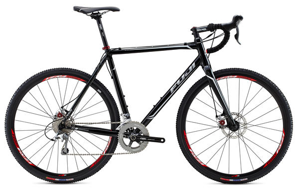 Fuji Cross 1.5 Color: Gloss Black w/White and Silver