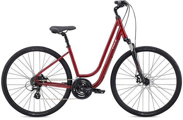 Fuji Crosstown 1.3 LS Color: Deep Red