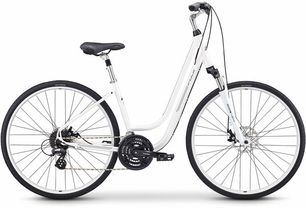 Fuji Crosstown 1.3 LS Color: Pearl White