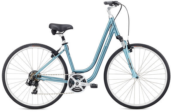 Fuji Crosstown 2.1 LS Color: Light Blue