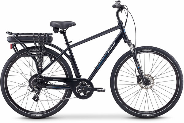 Fuji E-Crosstown Color: Pearl Black