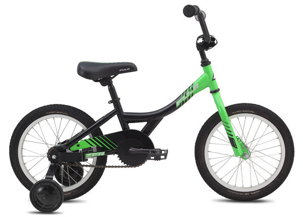 Fuji Fazer 16 - Boy's Color: Gloss Grass w/Silver and Black