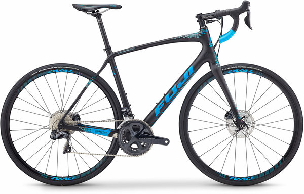 Fuji Gran Fondo 1.1 Color: Satin Carbon