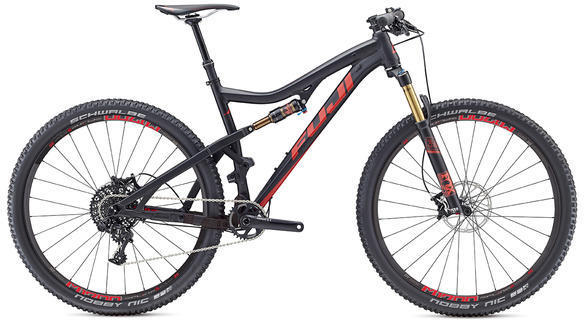 Fuji Rakan 29 3.1 Color: Satin Black / Red
