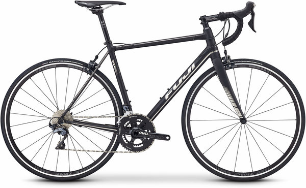 Fuji Roubaix 1.1 Color: Satin Black/Chrome