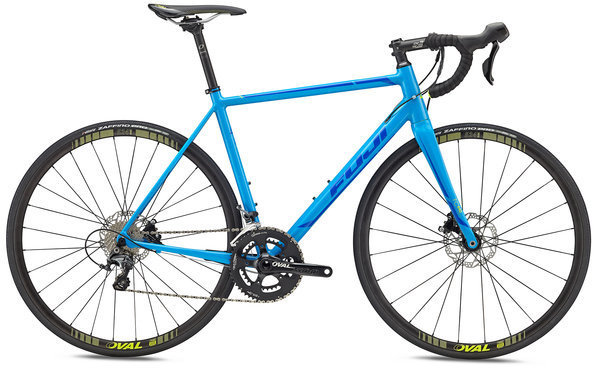 Fuji Roubaix 1.1 Disc Color: Cyan