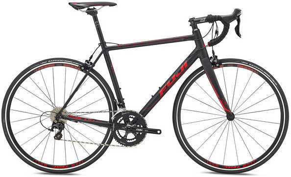 Fuji Roubaix 1.3 Color: Satin Black/Red