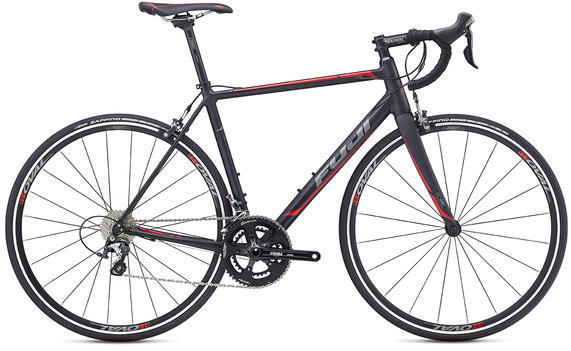 Fuji Roubaix 1.5 Color: Satin Black / Charcoal