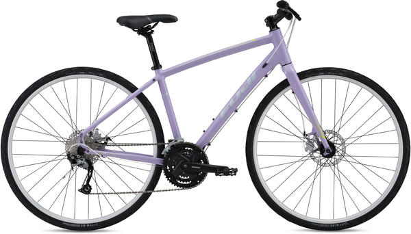 Fuji Silhouette 1.7 Disc-Women's Color: Light Purple w/ Citrus and Silver