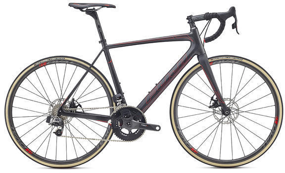 Fuji SL 1.1 Disc Color: Satin Carbon / Red
