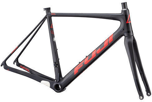 Fuji SL 1.1 Frame Color: Satin Carbon/Red