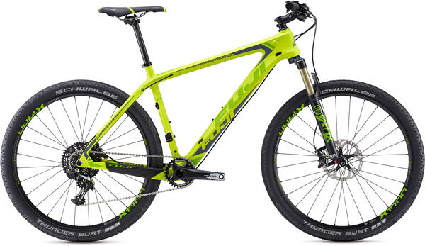 Fuji SLM 27.5 1.3 Color: Satin Citrus w/ Green and Dark Gray