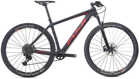 Fuji SLM 29 1.1 Color: Satin Carbon / Red
