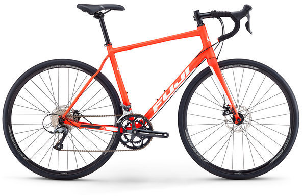Fuji Sportif 1.9 Disc Color: Matte Red