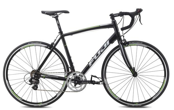 Fuji Sportif 2.5 Color: Gloss Black w/Lime and Silver