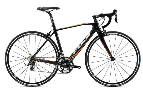 Fuji Supreme 2.3 - Women's Color: Gloss Carbon w/Amber and Silver