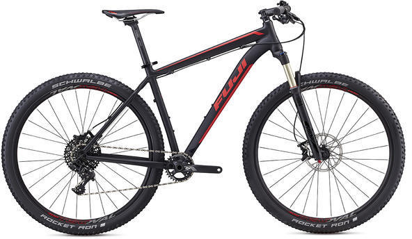 Fuji Tahoe 29 1.1 Color: Satin Black / Red