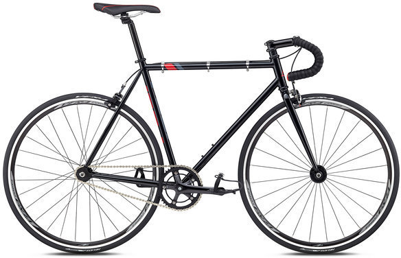 Fuji Track Color: Black/Red