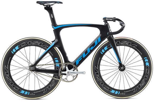 Fuji Track Elite Color: Carbon / Cyan
