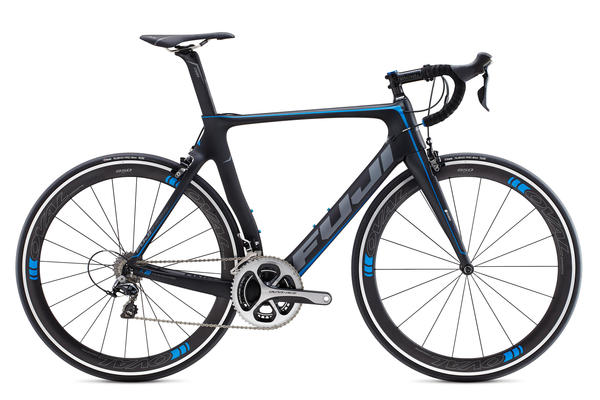 Fuji Transonic 1.3 Color: Satin Carbon/Blue
